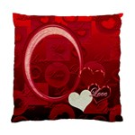 I Heart You red Pillow Cushion Case - Standard Cushion Case (One Side)