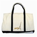 paris - Two Tone Tote Bag