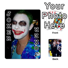 Key West Fantasyfest Cards  By Kimswhims   Playing Cards 54 Designs   5k4o457v2s6j   Www Artscow Com Front - Joker1
