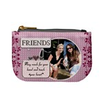 Friends Pink Mini Coin Purse