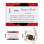 wedding favors(2) - Playing Cards Single Design