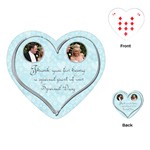 100% love heart wedding favor playing cards - Playing Cards (Heart)