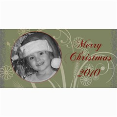 Merry Christmas 2010 By Amanda Bunn   4  X 8  Photo Cards   9mqd8sgtbf36   Www Artscow Com 8 x4 Photo Card - 1