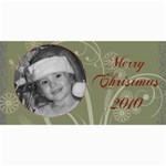 Merry Christmas 2010 - 4  x 8  Photo Cards