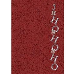 Santa Christmas Card By Lil    Greeting Card 5  X 7    Xtfyhl1h6eg3   Www Artscow Com Front Inside