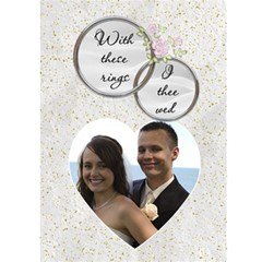 Wedding Thank You Card By Lil    Greeting Card 5  X 7    3gyl2v9jweo1   Www Artscow Com Front Inside