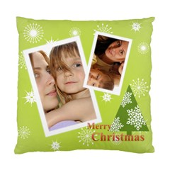 Xmas By Wood Johnson   Standard Cushion Case (two Sides)   9m6klv91af7x   Www Artscow Com Front