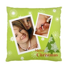 Xmas By Wood Johnson   Standard Cushion Case (two Sides)   9m6klv91af7x   Www Artscow Com Back