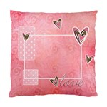 Custom Cushion Case (Two Sides)- LOVE - Standard Cushion Case (Two Sides)