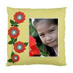 Custom Cushion Case (Two Sides) - flowers1 - Standard Cushion Case (Two Sides)