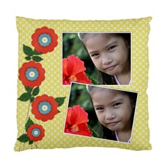 Custom Cushion Case (two Sides)   Flowers1 By Jennyl   Standard Cushion Case (two Sides)   Jwyzlist43lk   Www Artscow Com Back