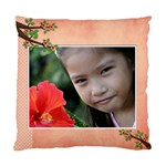 Cushion Case (Two Sides) - Flowers2 - Standard Cushion Case (Two Sides)