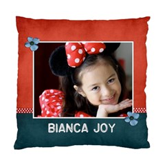 Cushion Case (two Sides) Template  Red&blue By Jennyl   Standard Cushion Case (two Sides)   Qv75vlidy6q0   Www Artscow Com Front