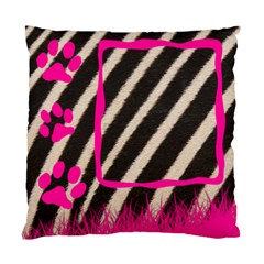 Zebra Pink By Carmensita   Standard Cushion Case (two Sides)   Wgtr2c8hc9gx   Www Artscow Com Front