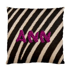 Zebra Pink By Carmensita   Standard Cushion Case (two Sides)   Wgtr2c8hc9gx   Www Artscow Com Back