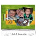 Calendario Gabriel - Wall Calendar 11  x 8.5  (12-Months)