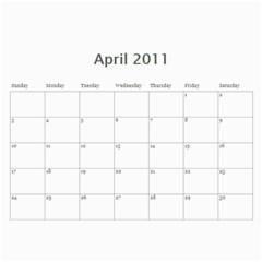 Calendario Gabriel By Thais   Wall Calendar 11  X 8 5  (12 Months)   Mw7zj3oklhvw   Www Artscow Com Apr 2011