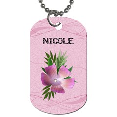 Isn t She Lovely? Dog Tag By Lil    Dog Tag (two Sides)   Jpxu6tf40pe5   Www Artscow Com Back