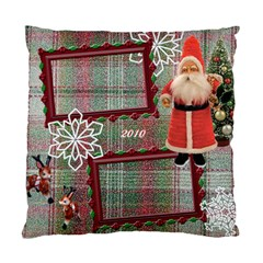 Santa Brought Us The Best Present In 2010 Pillow Case Cover By Ellan   Standard Cushion Case (two Sides)   1lw15bw90dks   Www Artscow Com Back