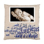 away in a manger snowflake cushion - Standard Cushion Case (Two Sides)