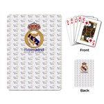 Real Madrid Cards - Playing Cards Single Design