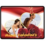 love - Fleece Blanket (Large)