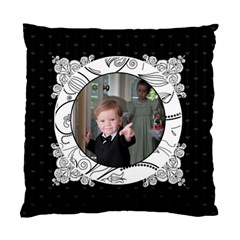 Pinstripe Hearts 2 Sided Cushion By Klh   Standard Cushion Case (two Sides)   Itrxdmtkxb00   Www Artscow Com Front