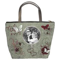 Midnight Sun Bucket Bag   Green By Lmw   Bucket Bag   6a6l3xnzrhjz   Www Artscow Com Back