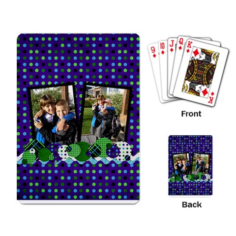 Purple Passion Cards By Albums To Remember   Playing Cards Single Design   7ecp3mim6dq6   Www Artscow Com Back