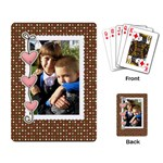Love You Cards - Playing Cards Single Design