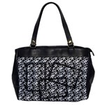 Cow print-Oversize Office Handbag