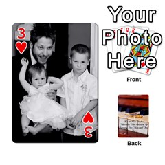 Wedding Cards By Emma   Playing Cards 54 Designs   W89qejs8gkhs   Www Artscow Com Front - Heart3