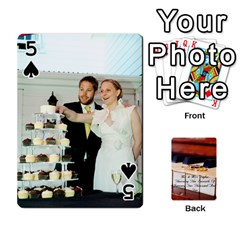 Wedding Cards By Emma   Playing Cards 54 Designs   W89qejs8gkhs   Www Artscow Com Front - Spade5