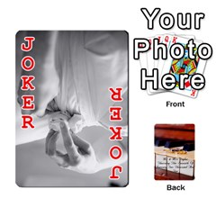 Wedding Cards By Emma   Playing Cards 54 Designs   W89qejs8gkhs   Www Artscow Com Front - Joker2