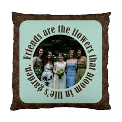 Friends 2 Sided Cushion By Klh   Standard Cushion Case (two Sides)   Ko0u5fkp29pw   Www Artscow Com Front