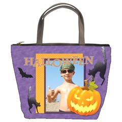 Halloween By Joely   Bucket Bag   Ivgdm52nl21a   Www Artscow Com Front