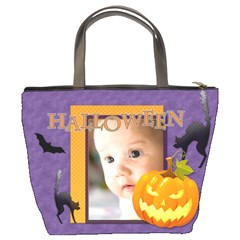 Halloween By Joely   Bucket Bag   Ivgdm52nl21a   Www Artscow Com Back