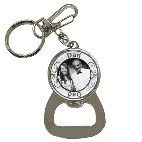 Dad Bottle Opener/key Chain By Lil    Bottle Opener Key Chain   Heqycngu9r5e   Www Artscow Com Front