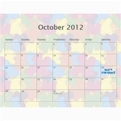 Family Calendar 2012 By Daniela   Wall Calendar 11  X 8 5  (12 Months)   Ieuagh1720qh   Www Artscow Com Oct 2012