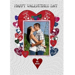 Key To My Heart Valentines Day Card By Lil    Greeting Card 5  X 7    8umd65r5vywx   Www Artscow Com Front Cover