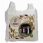Family Recycle Bag - Recycle Bag (One Side)