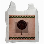 Harmony Round Tree - Recycle Bag (One Side)