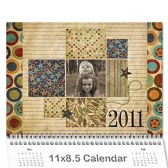 Calendar 2011 By Marina Tang   Wall Calendar 11  X 8 5  (12 Months)   Gkar511tmkjr   Www Artscow Com Cover