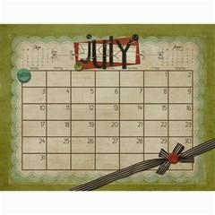 Calendar 2011 By Marina Tang   Wall Calendar 11  X 8 5  (12 Months)   Gkar511tmkjr   Www Artscow Com Jul 2011