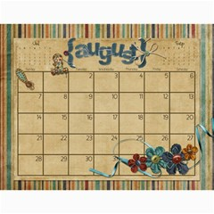 Calendar 2011 By Marina Tang   Wall Calendar 11  X 8 5  (12 Months)   Gkar511tmkjr   Www Artscow Com Aug 2011