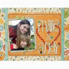 Calendar 2011 By Marina Tang   Wall Calendar 11  X 8 5  (12 Months)   Gkar511tmkjr   Www Artscow Com Month