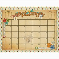 Calendar 2011 By Marina Tang   Wall Calendar 11  X 8 5  (12 Months)   Gkar511tmkjr   Www Artscow Com Sep 2011