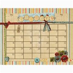 Calendar 2011 By Marina Tang   Wall Calendar 11  X 8 5  (12 Months)   Gkar511tmkjr   Www Artscow Com Jan 2011