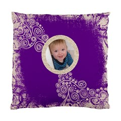 Santa Baby Fantasia Purple Swirls Cushion 2 By Catvinnat   Standard Cushion Case (two Sides)   7gomhpie7ot4   Www Artscow Com Back