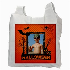 Halloween By Joely   Recycle Bag (two Side)   76u2dihu1bx4   Www Artscow Com Back